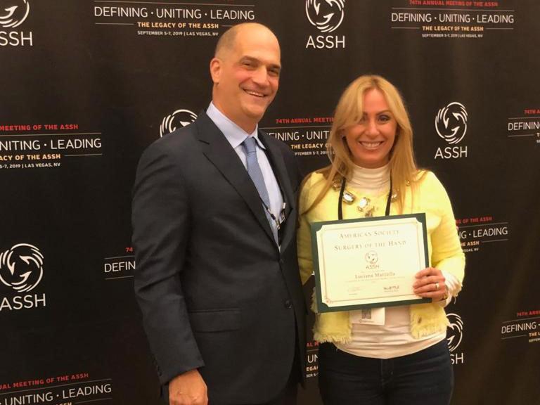Nomina a membro della Società Americana di Chirurgia della Mano
